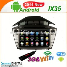 HYD-8203GDA Support Google Play Store for HYUNDAI IX35 special car dvd audio