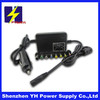 80W universal car charger for laptop and mobile