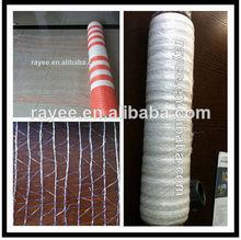 elastic pallet netting for turf grass, fruit ,flower pallets net , hay bale net / heno pacas con red