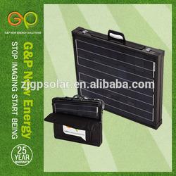 120w monocrystalline camping portalbe folding solar panel for sale