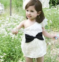2014 Hot Sale beaded neckline Maxi Child Dress Model