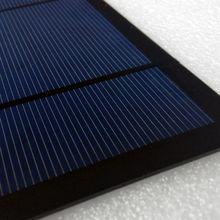 epoxy resin solar cell 3W mono epoxy resin solar panel