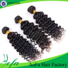 Best selling 24 inch top quality full cuticle brazilian hair wavy wholesale hair