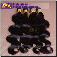 Guangzhou DK Hair bundles brazilian bulk hair yaki hair braid styles