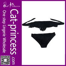 2014 sexy girl black micro sexy bikini swimwear