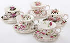 hot selling Porcelain Ceramic coffee Cups and Saucers