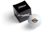 2014 new design luxury custom paper golf ball box wholesale