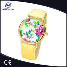 GENEVA Watch 2014 New Fashion Quartz Watches Female Hours Clock Wrist Watch High Quality