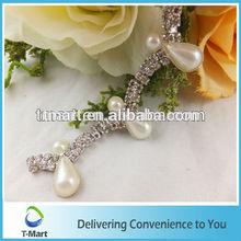 teardrop pearl trim garment shoe belt bag accessory