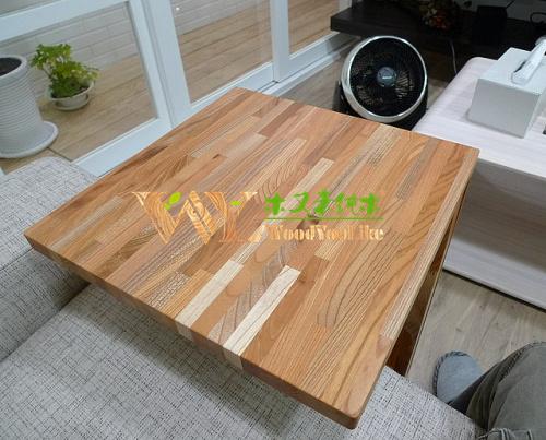 europea solida cucina in legno di faggio piano di lavoro ...