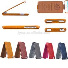 Retro flip case cover for iPhone 6 luxury design