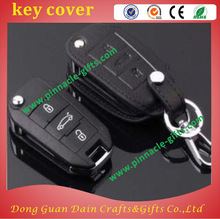 silicone car leather toyota soft pvc key cover/caps