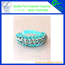 100%Eco-Friendly hot colorful gear diy buy rubber bands