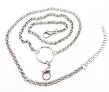 Stainless steel O chain necklace wholesale