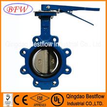 cast iron butterfly valve dn250