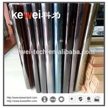 PET Aluminium film for car window tinting,Anti-glare protective film,Window security window film for car glass