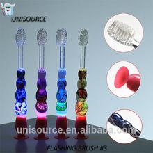 2014 electric Flashing timer Child Toothbrush