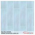 Los azulejos stock para la segunda opción, blanco de cerámica de color de madera de piso de cerámica