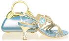 High quality women shoes purple low heel