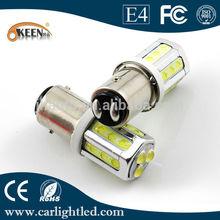 Automotive LED Turn Signal Lights, 1157/BA15S Car LED Bulb with 21 Piranha Chip, 12V, for Reverse
