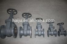 2014 water /oil/gas casting steel rising stem gate valve