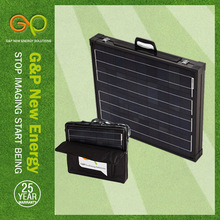 120w 12 v boat battery charger camping portalbe folding solar panel for sale