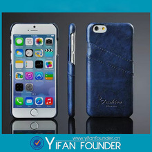 High quality ! Blank 3D sublimation leather case for iphone 6
