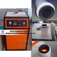 melt rapidly furnace mini induction oven platinum smelting furnace