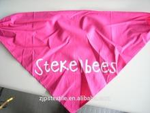 Polyester triangular bandana, scarf 100% cotton colorful reactive dye triangle binder bandana