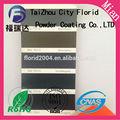 hoja de metal muebles epoxi poliéster de pulverización electrostática de pintura en polvo pigmento de la pintura
