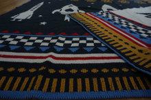 new idea soft jacquard cotton woven baby blanket