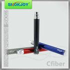 China Wholesale Smokjoy carbon fiber battery rainbow colored e-cigarette ego twist