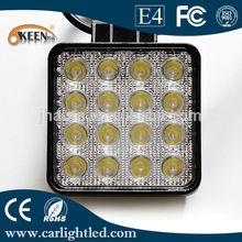 48W 12/24V LED Work Light Bar for Off-road Vehicle, 5,000-6,000K Color Temperatures