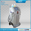Permanent 8 in 1 e-light ipl rf nd yag laser skin treatment hair removal beauty equipment