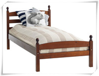 SD-1011 Hot selling kids solid wood single bed/ kid room furniture