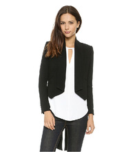 2015 Women Jacket Classic Dovetail Jackets Small Formal Attire Asymmetrical Hem Shoulder Pads Suit Tuxedo