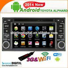 TYT-7930GDA support Google online Navi for Toyota ALPHARD Car Auto Radio 2 Din