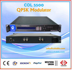 COL5500 Low cost dvb-s QPSK Modulator, SPI ASI to RF modulator, MMDS digital QPSK satellite Modulator