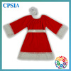 2014 Winter Newest Design Girl Cotton Dress With Sash and Headband XMAS Child Dress