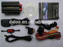 Multi-language web platform tracking car GPS tracker TK103 with remote controller Mini Gps Tracker ----Lowest