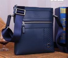 Fashion shoulder messenger bag men's leather fashion briefcase