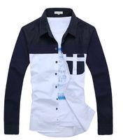 2014 hot sale Mens Designer Casual T-Shirts Tee Shirt Slim Fit Tops New dress shirt
