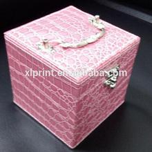 PU Leather Jewelry Box For pandora beads