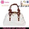 high-end metal lock handbag