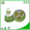 indoor lighting Shenzhen HDS Lighting cri>80 led china 6000-6500k 3x1w led driver led spotlight with 3 warranty