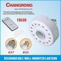 Mejor recargable ac/operado dc bombillas de luz led