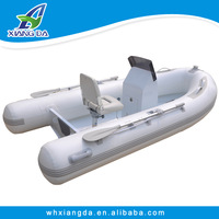 Used rib inflatable boat for sale /aluminum rigid hull inflatable boat