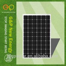 high efficiency low price transparent solar panel