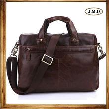 7075LQ Men's leather Shoulder Bag Executive Briefcase