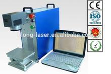 Small 10W Portable Fiber Laser Marker , Watches and Clocks Fiber Laser Marking Machine